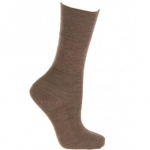 Extra Roomy Wool-rich Softhold® Socks Taupe 6-11