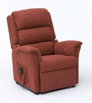 Nevada Dual Motor Rise and Recline Terracotta