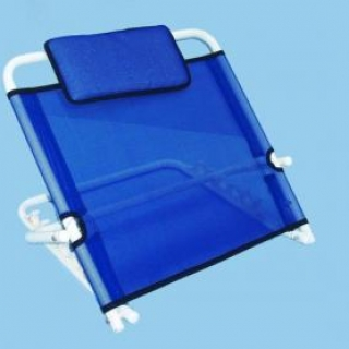 Bed back rest with head cushion badham mobility for Pillow back bed frame
