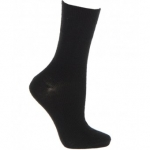 Extra Roomy Wool-rich Softhold® Socks Black 11-13