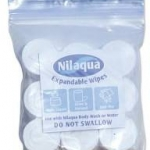 Nilaqua Expandable Wipes pack of 9
