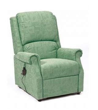 Chicago Rise & Recline Chair Green