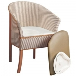 Basket Weave Commode