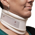 Adjustable Plastic Neck Collar-Medium
