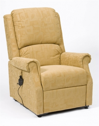 Chicago Rise & Recline Chair Gold