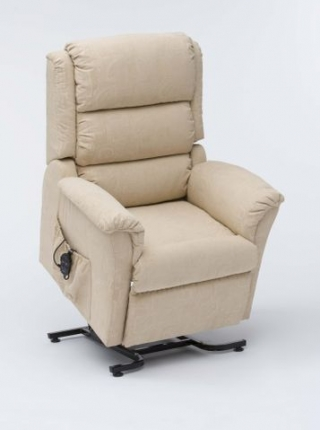 Nevada Dual Motor Rise and Recline Cream