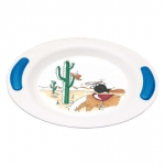 Soft Grip Children's  Deep Plate- Adventure